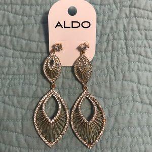 Gold Aldo earrings